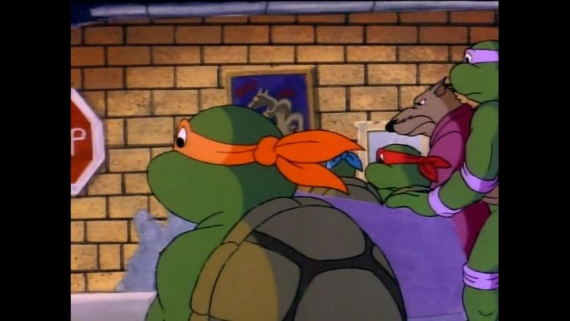 TMNT 1987 серия 39 (Супер Рокстеди и могучий Бибоб)