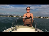 Елена Летучая в купальнике на отдыхе