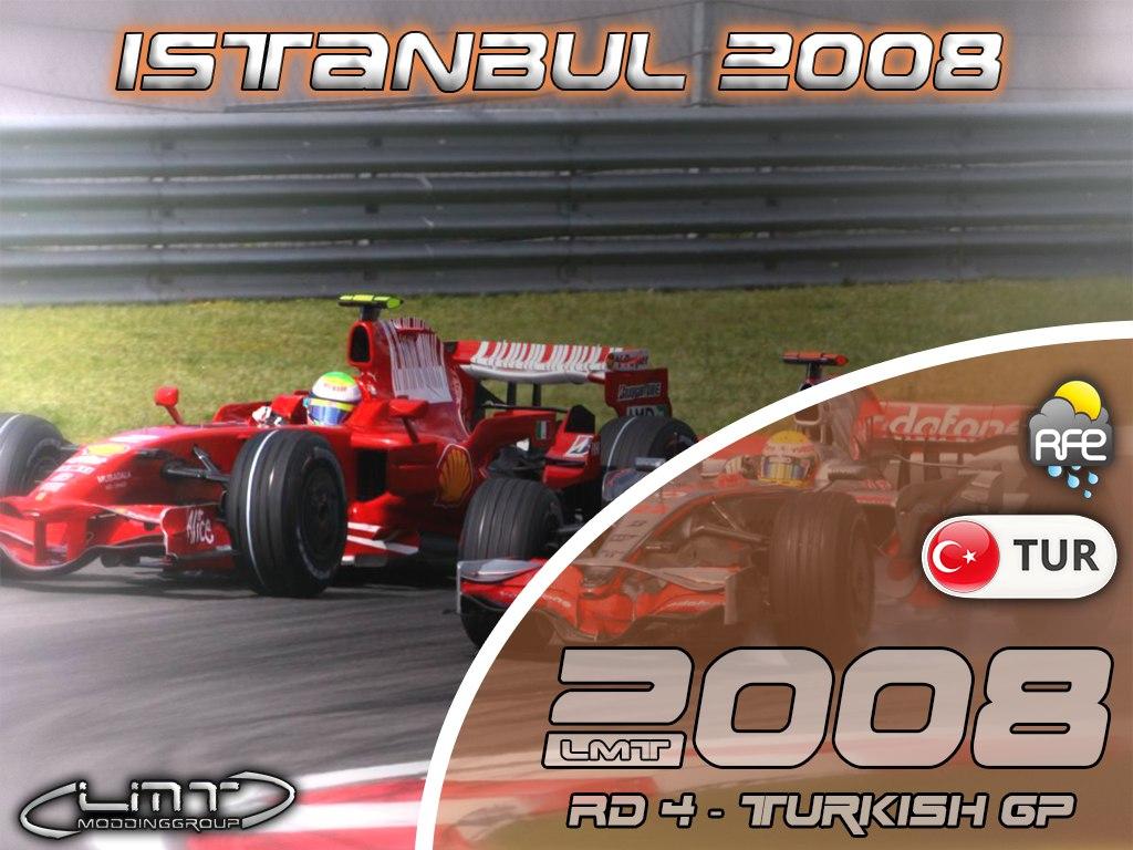 Гонки.МЕ — Ф1 ЛМТ 2008 Гран-при Турции