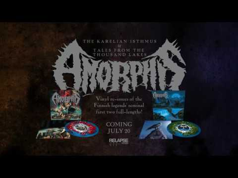 AMORPHIS - Tales From The Thousand Lakes The Karelian Isthmus Vinyl Reissues