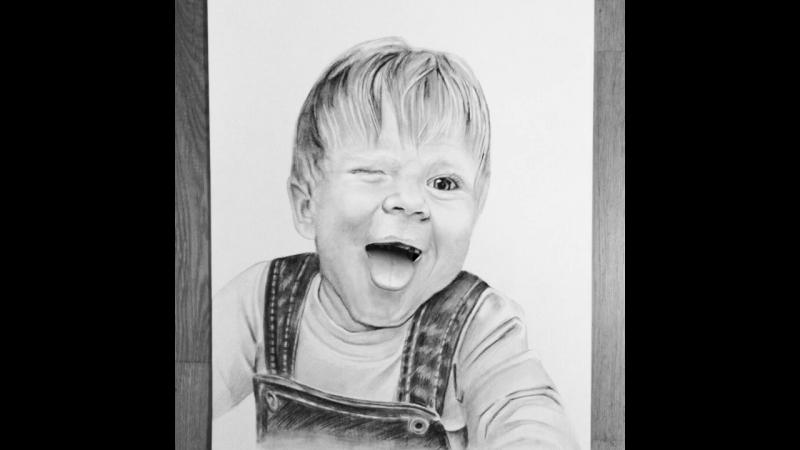 Портрет ожил 😜