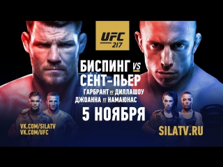 UFC 217  Bisping vs St-Pierre - Live From New York