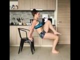 Верх тела со стулом