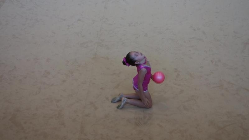 GRS - Ruban bleu avec ballon - Ania