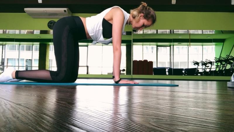 Корректирующая тренировка для спины