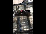 Процесс проклейки полов и багажника