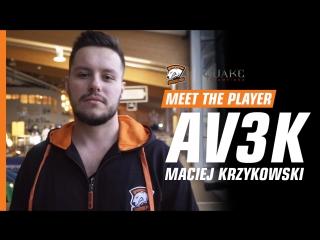 MEET THE PLAYER | Av3k - о Quake Champions, дружбе с NEO и выступлении за Virtus.pro