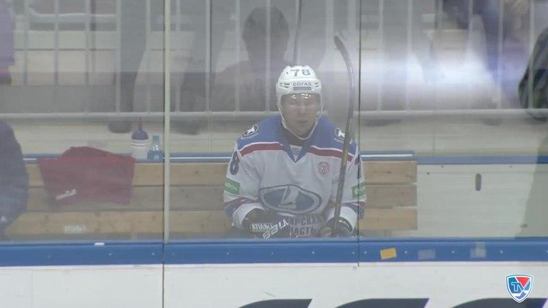 Моменты из матчей КХЛ сезона 14 15 Удаление Стулов Дмитрий Лада наказан на 2 минуты за подножку 08 12