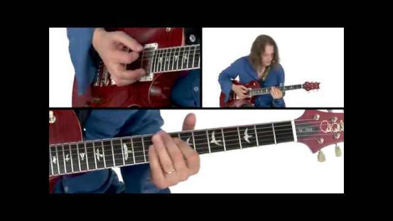 Robben Ford Guitar Lesson - V to I Chord Lines 1 Demo - Solo Revolution Diminished Lines
