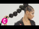 You'll Love This Chic Pony Puff The Braid Up Cosmopolitan