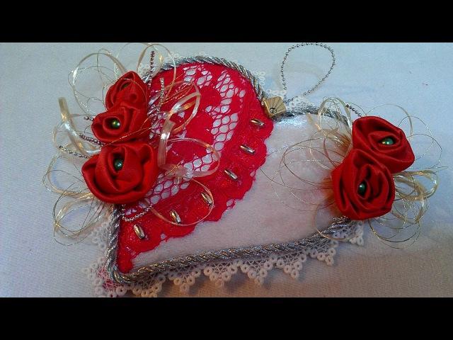 Подарок на День Святого Валентина - сердечко Happy Valentine's day heart how made