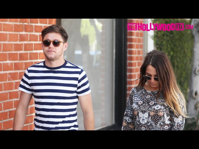 Niall Horan Goes Shopping With A Mystery Woman While On Break With One Direction 2.6.18