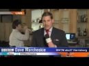 Watch This Guy Drink From A Flower Vase on Live TV! Videobomb