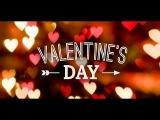 Saint Valentine`s Day in Russia