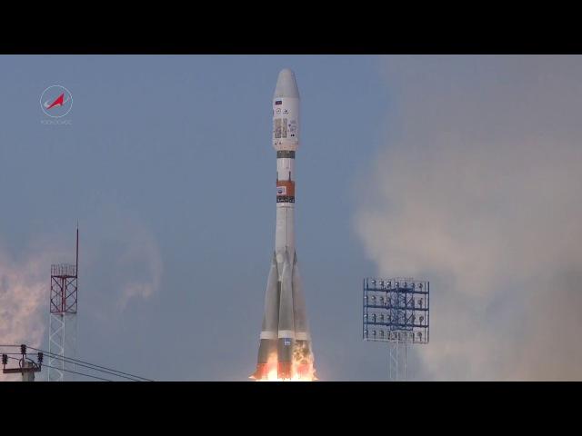 Пуск РКН «Союз-2.1б» с КА «Метеор-М» № 2-1(сборник HD)