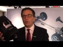 Vibracoustic CEO Frank Mueller talks about his company's anti-vibration products at NAIAS
