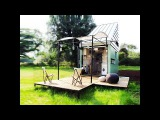 Solar Powered POD Idladla is a Tiny Flat Pack Home Amazing Small House Design
