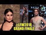 The Lakme Fashion Show 2018 #LFW GRAND FINALE Kareena Kapoor, Kangana, Malaika Arora Khan