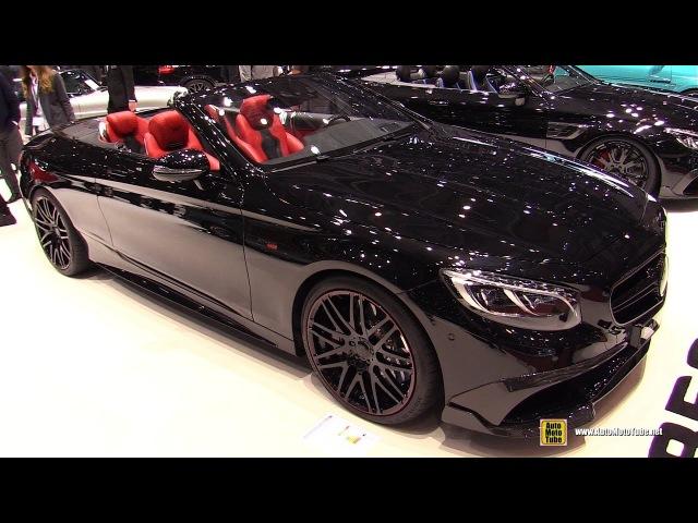2017 Mercedes AMG S63 Cabrio Brabus 850 Exterior and Interior Walkaround 2017 Geneva Motor Show