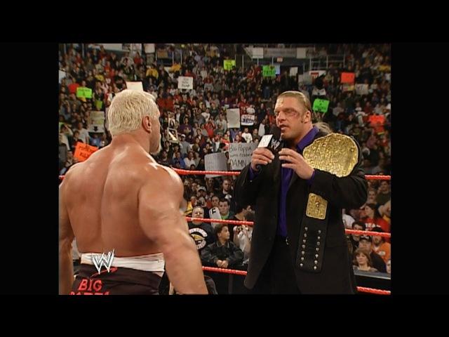 Triple H, Scott Steiner Ric Flair Segment: Raw, Jan. 20, 2003