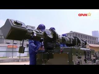 Pháo phòng không 57mm tự động do Việt Nam tự cải tiến