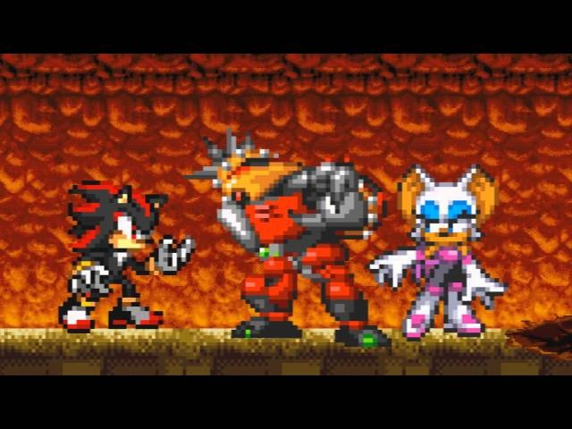 Sonic 06 No Time Left Mephiles Boss Fight Sprite Animation
