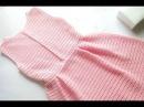 МК вязаное платье крючком Элегия crochet , 3 часть ,Вяжем с Мелкой ,платье крючком кружево