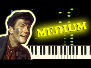 MARY POPPINS - CHIM CHIM CHER-EE - Piano Tutorial