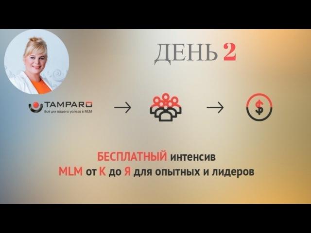 Интенсив по Матрице осознанности в MLM от проекта Академии Tamparo День 2 часть1