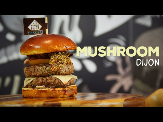 Mushroom Dijon - Signature McDonald's - Sanduba Insano