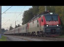 Электровоз ЭП20-038 с пассажирским поездом №94 Москва - Пенза