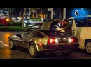 DeLorean DMC 12 Arriving , Parking And Leaving At St. Regis Singapore