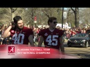Alabama 2017 National Championship Parade and Celebration
