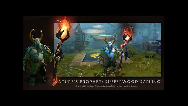 Dota 2 - Sufferwood Sapling with Turbulent Teleport Gem