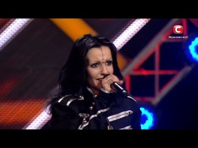 Сорочинская Ольга Within Temptation Jillian Второй кастинг Х фактор 8 09 09 2017