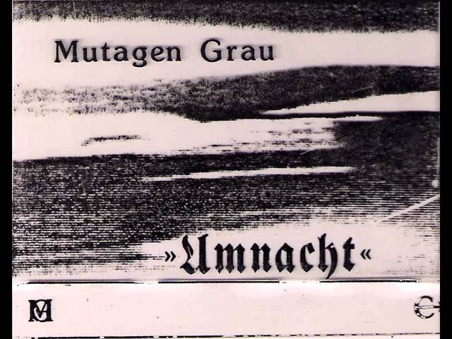 Mutagen Grau - Channels Language ( 1985 Experimental Drone / Abstrct Noise)