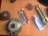 Сошол( отклеился) магнит с динамика колонки  ремонт