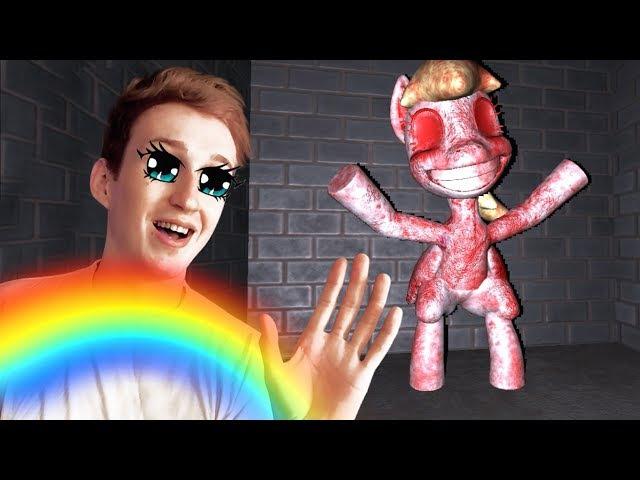 МОИ МАЛЕНЬКИЕ КРОВАВЫЕ ПОНИ ○ Pinkie Pie's Cupcake Party my little pony horror game