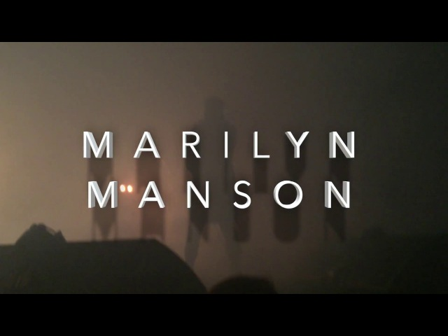 Marilyn Manson - Live at The Pageant in St. Louis (2.9.15)