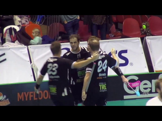 Финал видеоклип Floorball Флорбол ФС2017 EFC 2017 Highlights Slevik IBK v FBK Valmiera Men's Final