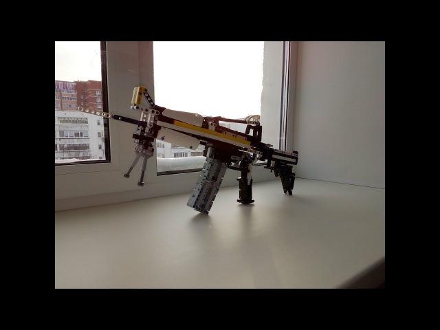 Штурмовая винтовка m4a1 s из лего
