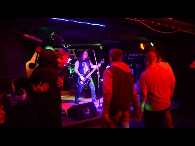 Выступление группы R.I.F в рок-баре Бах. Обнинск, 23 февраля 2018 года