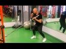 Тренировка с грифом для развития скорости и силы удара. [Stas Solomka]