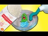 Лизун без клея из зубной пасты и муки ПРОВЕРКА DIY как сделать?