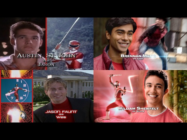 All Power Rangers Opening Themes and Theme Songs | Mighty Morphin - Super Ninja Steel | Episode 10
