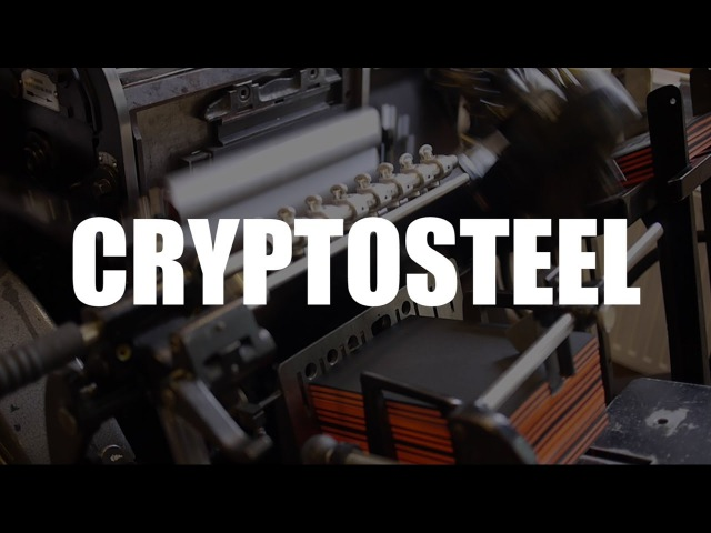 Cryptosteel - The Ultimate Cold Storage Wallet