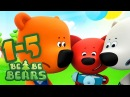 Bjorn and Bucky - all episodes compilation 1-5 - Moolt KidsToons - videos for kids