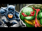 БЭТМЕН ВСТРЕТИЛ ЧЕРЕПАШЕК-НИНДЗЯ! ЧАСТЬ 1. DC. IDW. Batman and Teenage Mutant Ninja Turtles