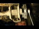 Замена сайлентблока задней балки Audi A4 B5