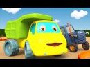 Развивающие мультики про машинки - Синий Трактор Гоша - Куличики из песка
